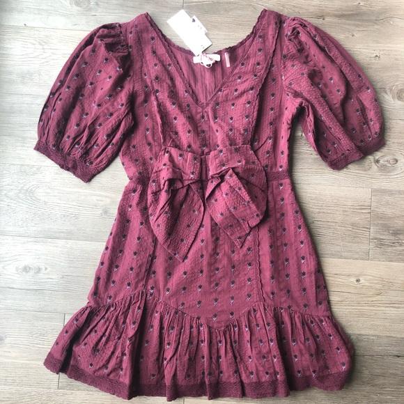 LoveShackFancy Dresses & Skirts - LoveShackFancy | Lena Floral Dress in Spice